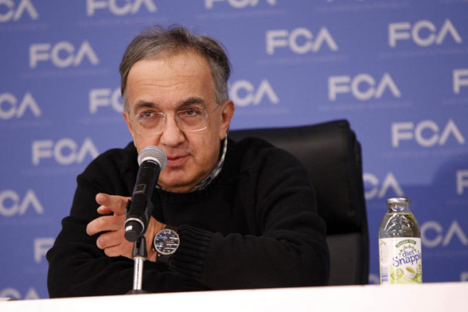 FCA, Marchionne conferma la sua uscita dal Gruppo nel 2018