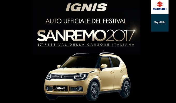 Suzuki IGNIS: guidare al ritmo brioso del Festival di Sanremo 2017