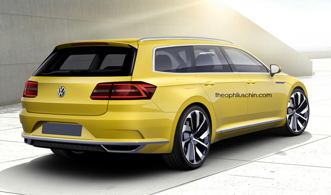 Volkswagen Arteon Shooting Brake: l'immaginata variante della futura berlina [RENDERING]