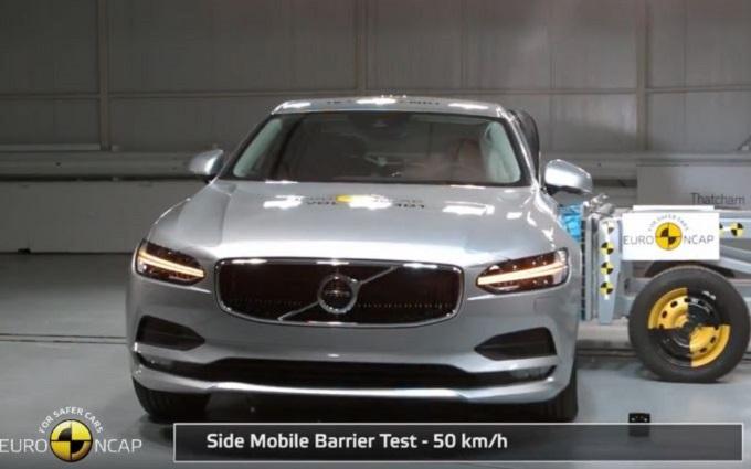 Volvo S90/V90 conquista le cinque stelle Euro NCAP [VIDEO]