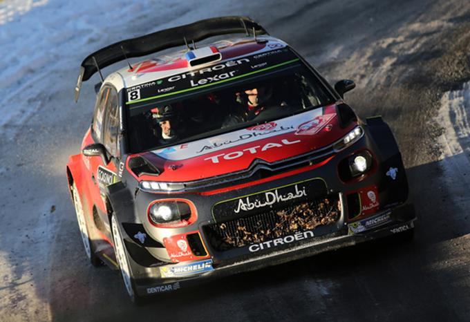 Citroen, Rally di Monte Carlo: prima speciale vinta da Lefebvre, il francese conclude al nono posto