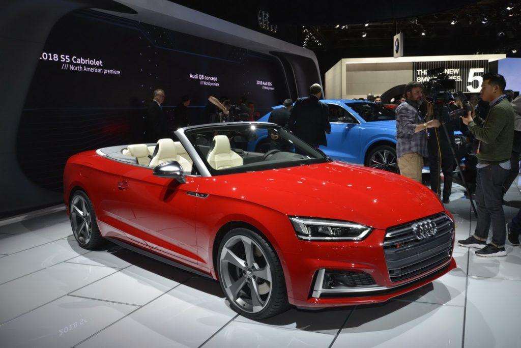 La nuova Audi S5 Cabriolet si scopre al Salone di Detroit 2017 [FOTO]