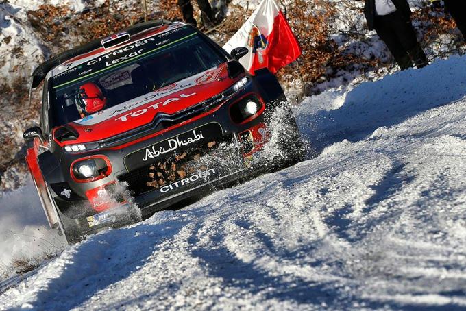 WRC, Citroen: gli highlights di Monte Carlo [VIDEO]