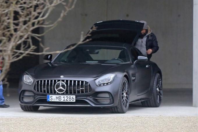 Mercedes AMG GT C Edition 50: debutterà a Detroit insieme al facelift per l'intera gamma