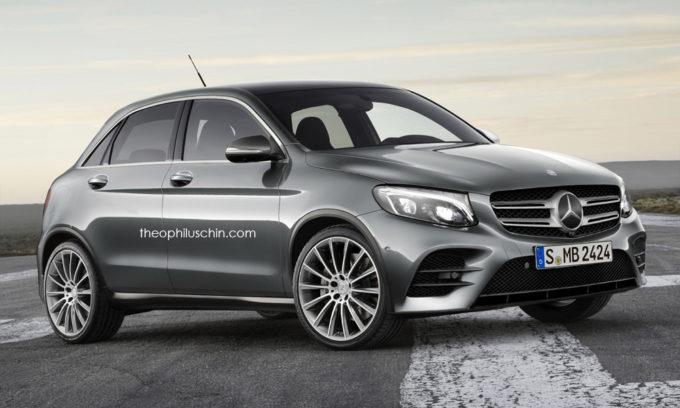 Mercedes potrebbe pensare ad un Suv più compatto della GLA? [RENDER]