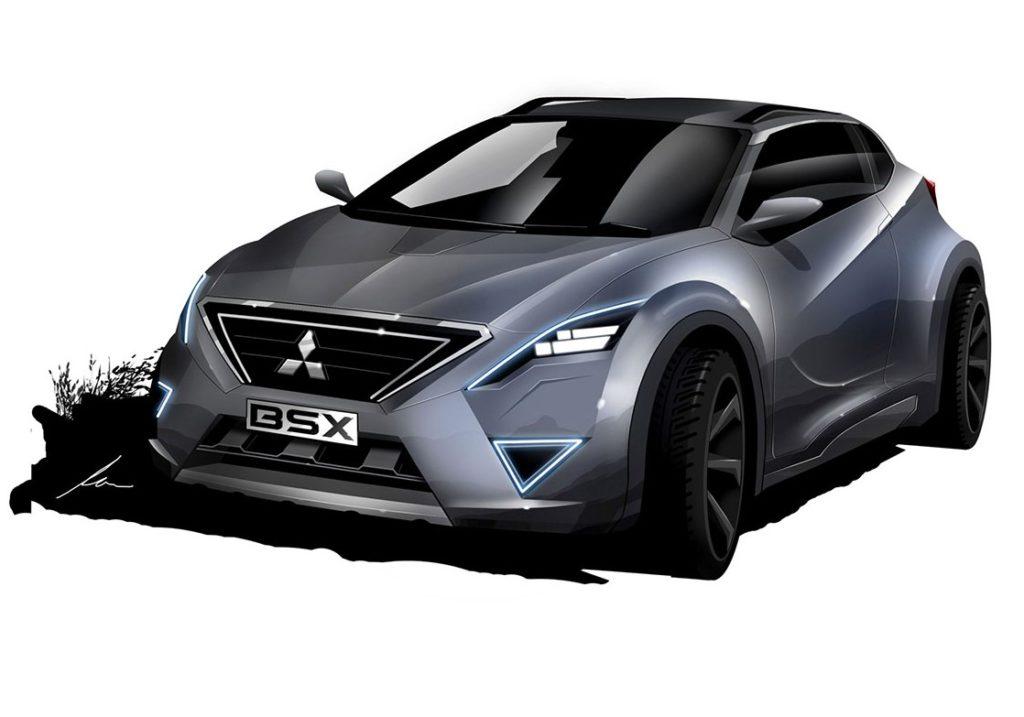 Mitsubishi BSX, immaginato un nuovo ipotetico crossover [RENDERING]