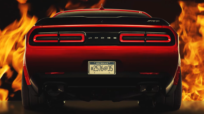 Dodge Challenger SRT Demon: alla scoperta del design [VIDEO]