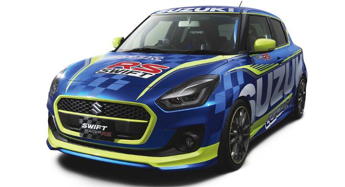 Suzuki Swift Racer RS: ecco come sarebbe la versione da pista [RENDERING]