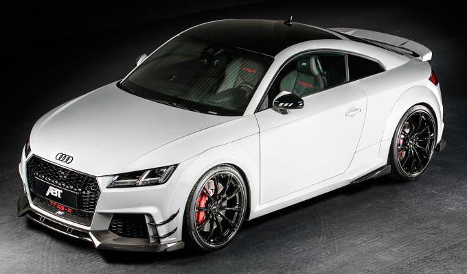 Audi TT RS-R: ABT porta la coupè di Ingolstadt nel regno delle supercars [FOTO]