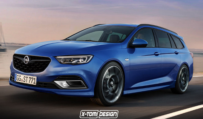 opel insignia sports tourer opc e se venisse prodotta render. Black Bedroom Furniture Sets. Home Design Ideas