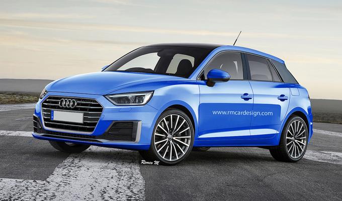 Audi A1 MY 2018: una nuova ipotesi di stile affiora sul web [RENDERING]