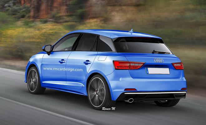 Audi A1 My 2018 Una Nuova Ipotesi Di Stile Affiora Sul Web