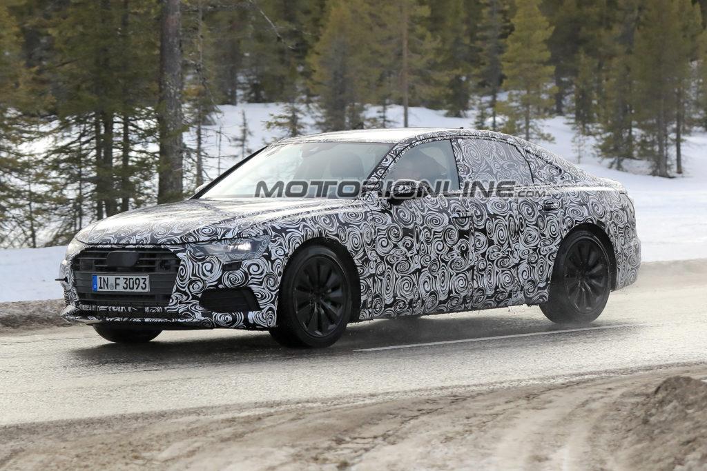 Audi a6 my 2018 il nuovo modello stato sorpreso su for Quando esce la nuova audi q3 2018