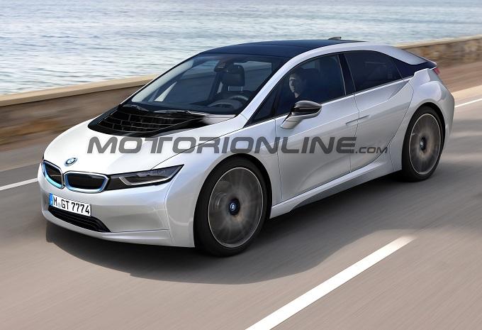 BMW i5, un nuovo RENDER ipotizza le forme del futuro crossover elettrico