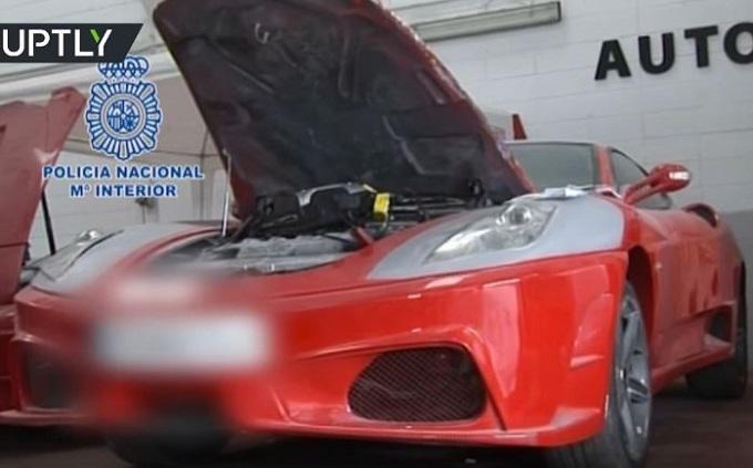 False Ferrari a 40mila euro: scoperto traffico in Spagna