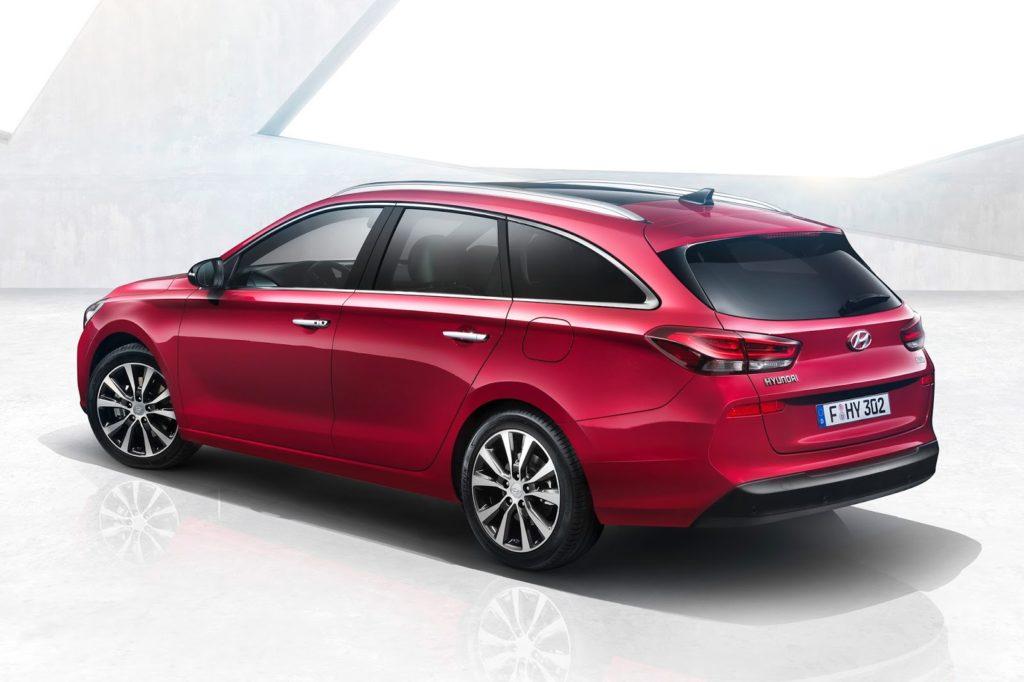 Nuova Hyundai i30 Wagon foto stampa