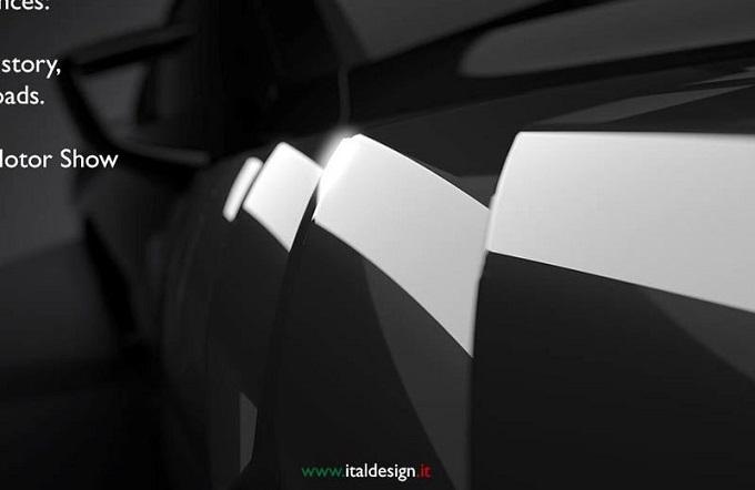 Italdesign scopre un altro pezzo della supercar per Ginevra 2017 [TEASER]