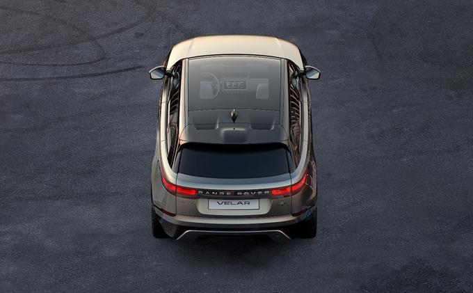 Range Rover Velar: prima immagine del nuovo SUV