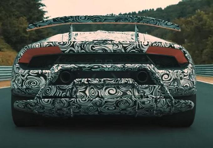 Lamborghini Huracan Performante: nuovo TEASER sulla tecnologia Aerodinamica Lamborghini Attiva