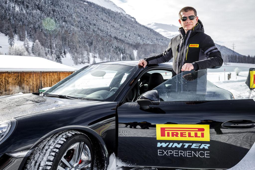 Pirelli a St.Moritz per celebrare il record di omologazioni del suo range invernale [VIDEO]