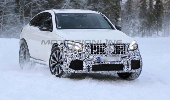 Mercedes-AMG GLC 63 Coupe - Foto spia 01-02-2017