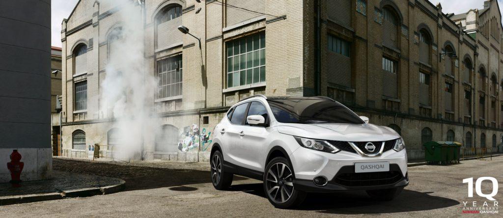 Nissan Qashqai: prolungata fino a febbraio l'offerta per il decennale