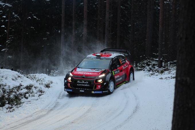Citroen C3 WRC: la danza tra le nevi svedesi [VIDEO]