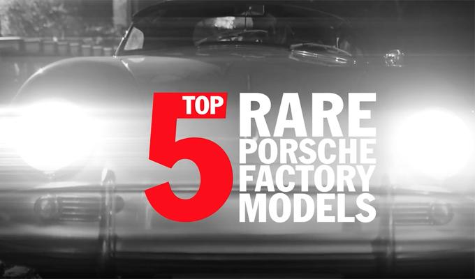 Porsche Top 5 series: una storia di passione e intuito raccontata ad episodi [VIDEO]
