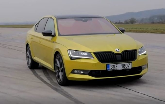 Skoda Superb Sportline: dinamismo in movimento [VIDEO]