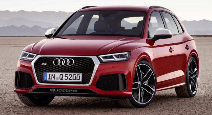 Audi RS Q5: verrà svelata al Salone di Ginevra 2017 [RENDER]