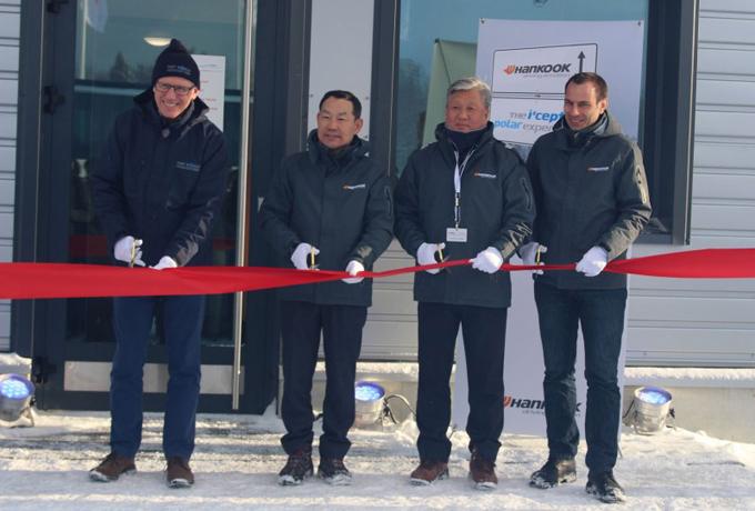 Hankook: inaugurato centro di prova per pneumatici in Finlandia