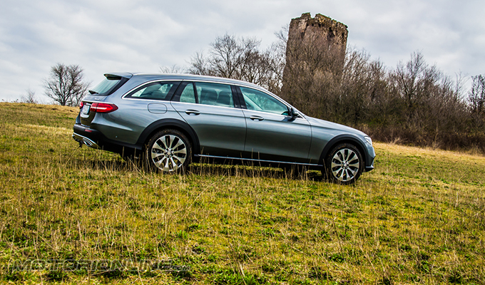 Mercedes Classe E 4Matic All Terrain, la station che si comporta da fuoristrada [VIDEO TEST DRIVE]