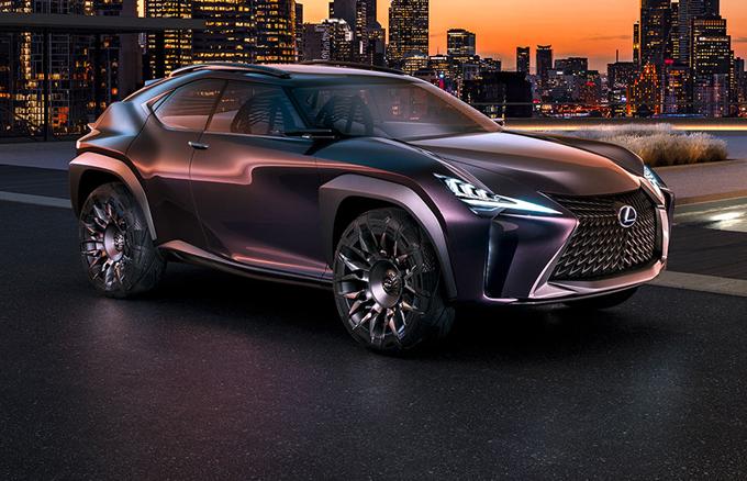 Lexus UX Concept: produzione all'orizzonte?