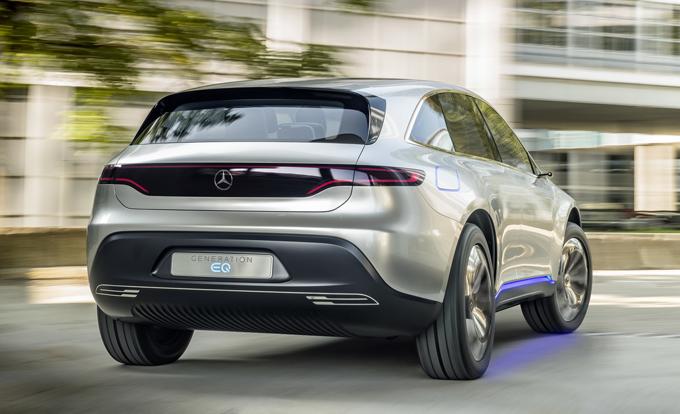 Mercedes EQ, velocizzati i tempi: 10 modelli entro il 2022