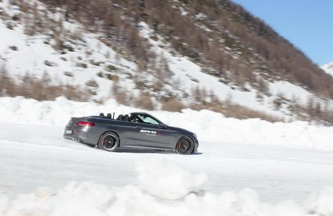 """AMG e Brembo insieme per la AMG Driving Academy: un'esperienza così adrenalinica da lasciarti """"di ghiaccio"""""""
