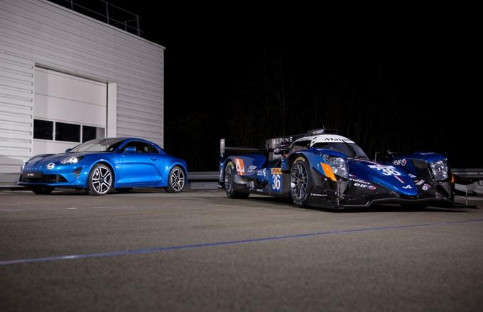 Alpine A470: la nuova LMP2 per il Mondiale Endurance 2017