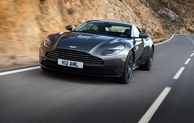 Aston Martin DB11: la versione col V8 biturbo AMG potrebbe debuttare al Salone di Shanghai