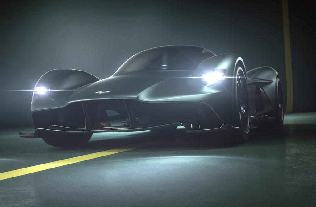 Aston Martin Valkyrie: eccolo il nome scelto per l'hypercar AM-RB 011 [VIDEO]