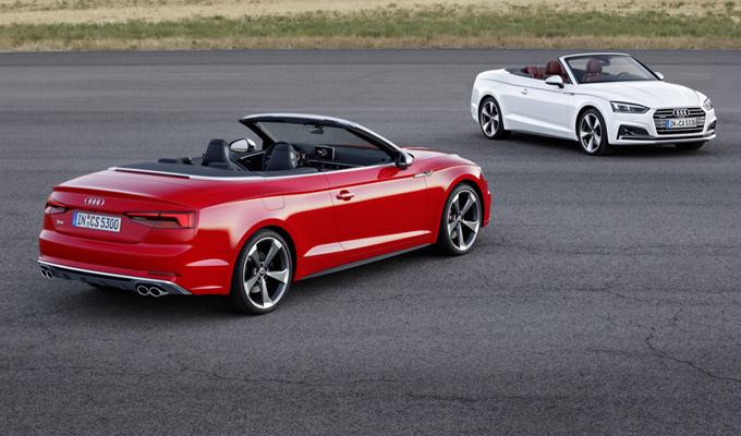 Audi A5 e S5 Cabriolet MY 2018 - nuova galleria