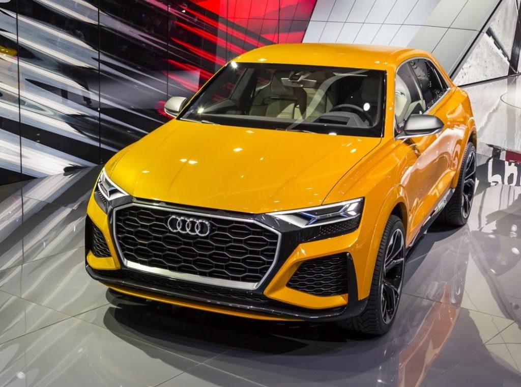 Audi Q8 Sport Concept: a Ginevra verso il SUV full-size di serie [VIDEO LIVE]
