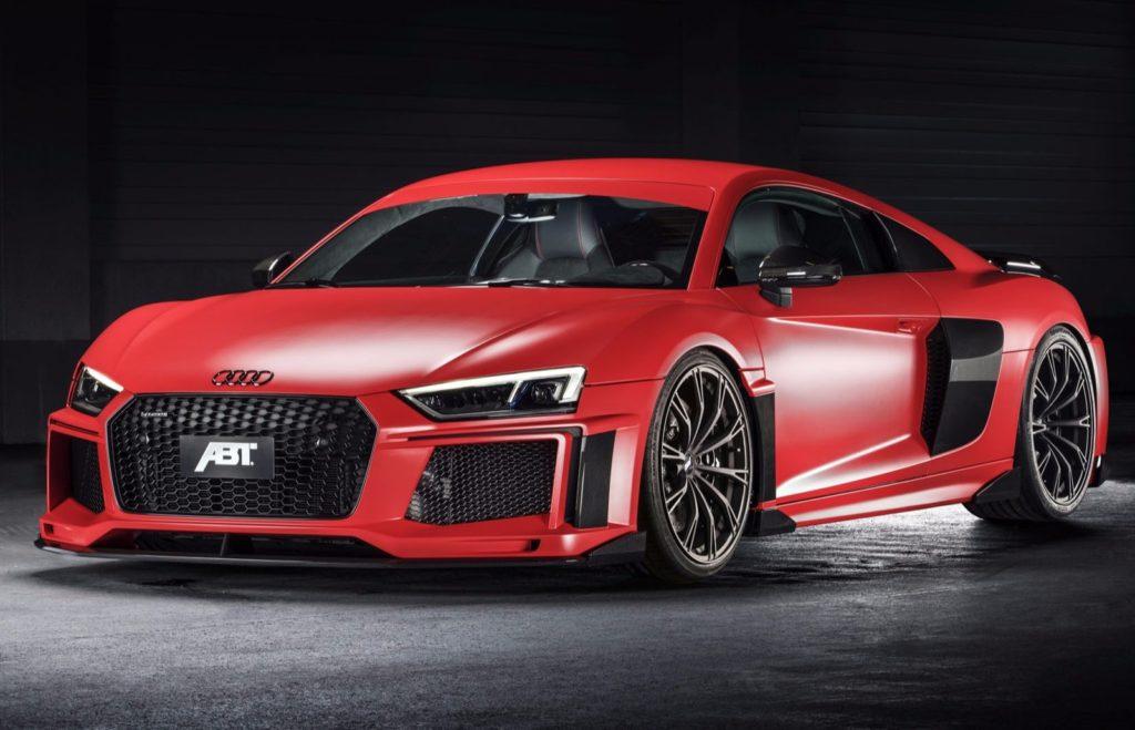 Audi R8 V10 Plus, un ritocchino da 20 CV in più e 50 kg in meno firmato ABT [FOTO]