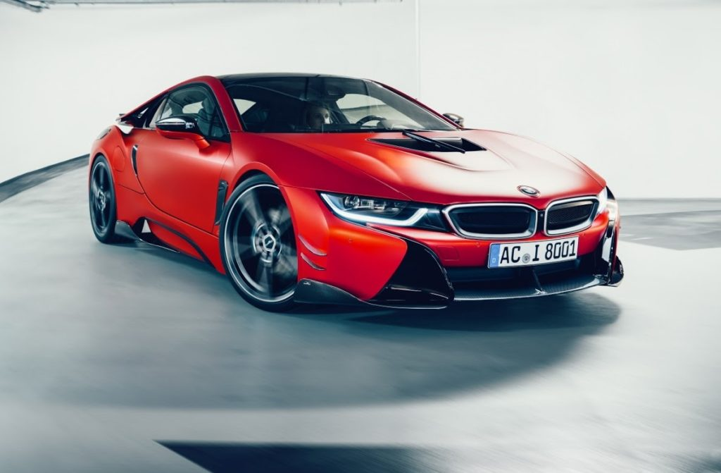bmw i8 ancora pi fascinosa con il nuovo tuning di ac schnitzer foto e video. Black Bedroom Furniture Sets. Home Design Ideas