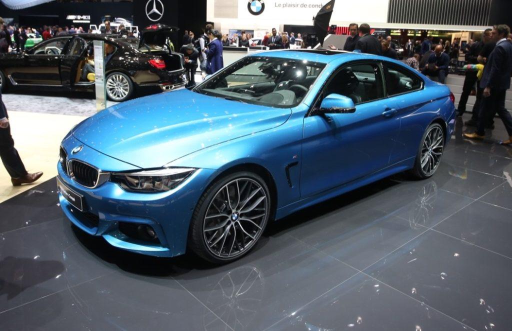 Nuova BMW Serie 4: a Ginevra tutta la gamma si rifà il trucco [VIDEO LIVE]