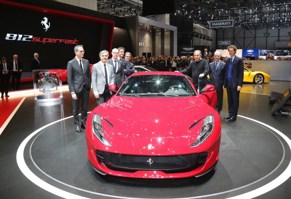 Salone auto di Ginevra, Ferrari rivela la nuova 812 Superfast