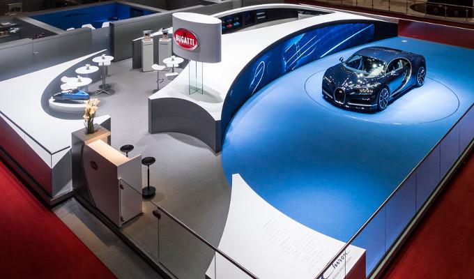 Bugatti ha vinto il Creativity Award a Ginevra 2017