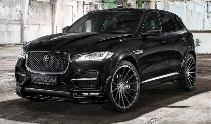Jaguar F-Pace: Hamann le dona un'elegante aggressività [FOTO]