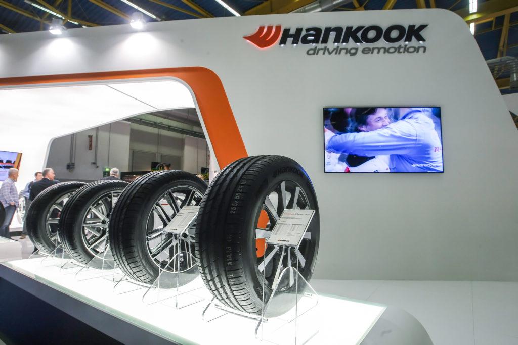 Hankook presenta le sue ultime novità all'Autopromotec di Bologna dal 24 al 28 maggio