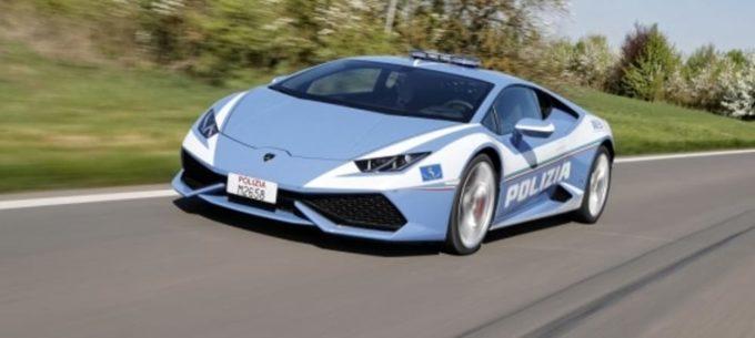 Lamborghini ha consegnato una Huracán alla Polizia stradale di Bologna