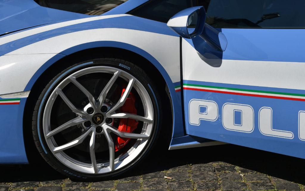 Una seconda Lamborghini Huracàn per la Polizia di Stato