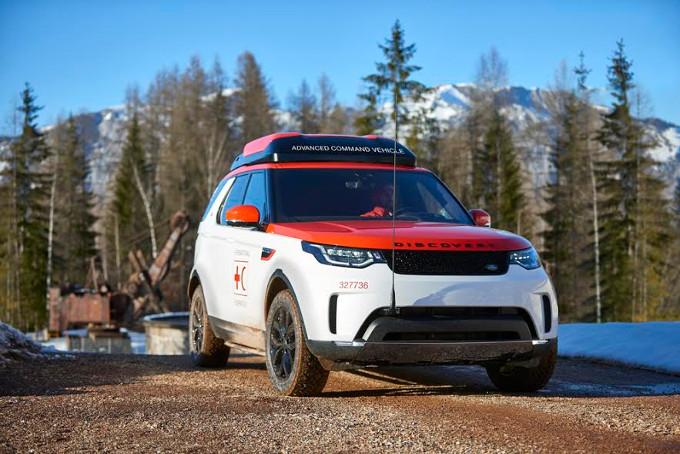 Land Rover e la Croce Rossa Austriaca danno vita a Project Hero